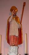 St Stapin en l'église de Ventenac Cabardès